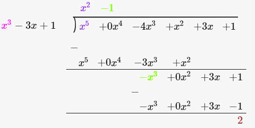 R D Sharma Solutions For Class 10 Maths Chapter 2 Polynomials ex 2.3 - 6