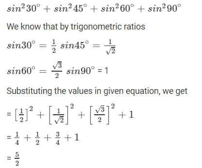 R D Sharma Solutions For Class 10 Maths Chapter 5 Trigonometric Ratios ex 5.2 - 4