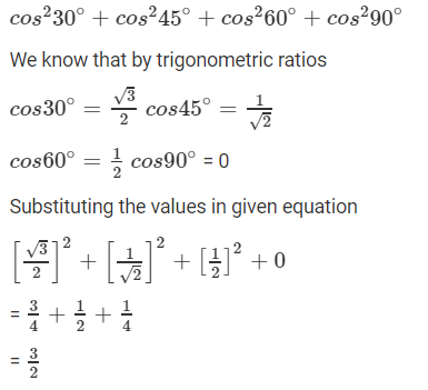 R D Sharma Solutions For Class 10 Maths Chapter 5 Trigonometric Ratios ex 5.2 - 5