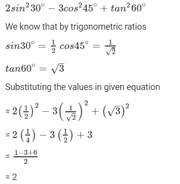R D Sharma Solutions For Class 10 Maths Chapter 5 Trigonometric Ratios ex 5.2 - 7