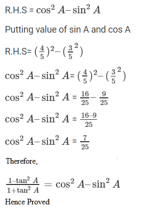 R D Sharma Solutions For Class 10 Maths Chapter 5 Trigonometric Ratios ex 5.1 - 12