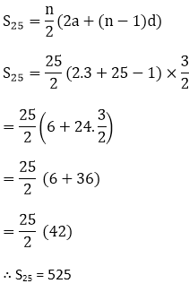 R D Sharma Solutions For Class 10 Maths Chapter 9 Arithemetic Progressions ex 9.6 - 5