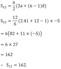 R D Sharma Solutions For Class 10 Maths Chapter 9 Arithemetic Progressions ex 9.6 - 6