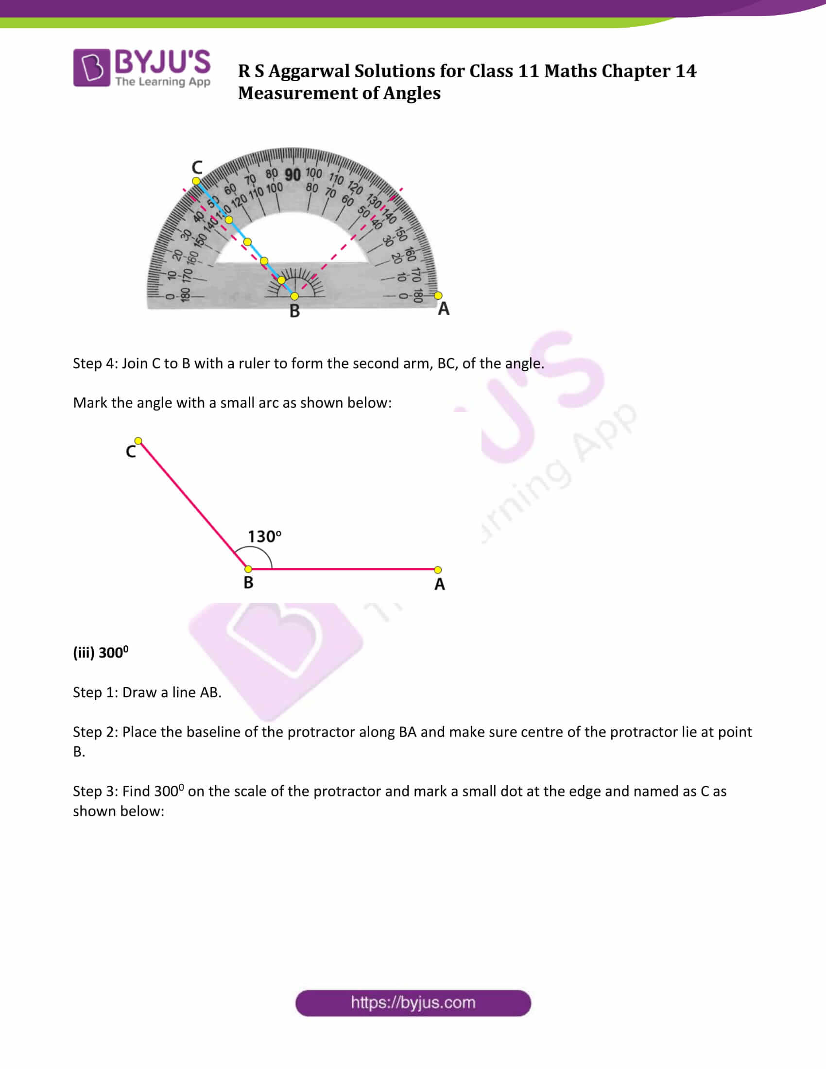 rs aggarwal solution class 11 maths chapter 14