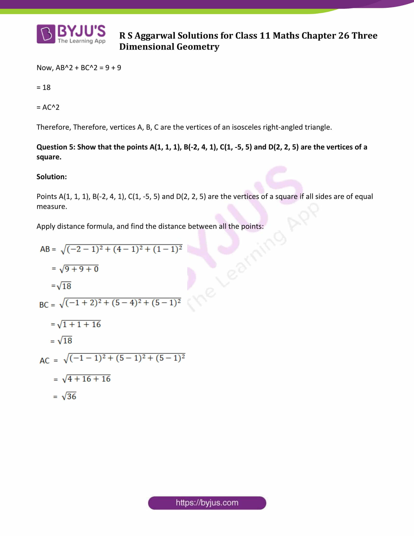 rs aggarwal solution class 11 maths chapter 26