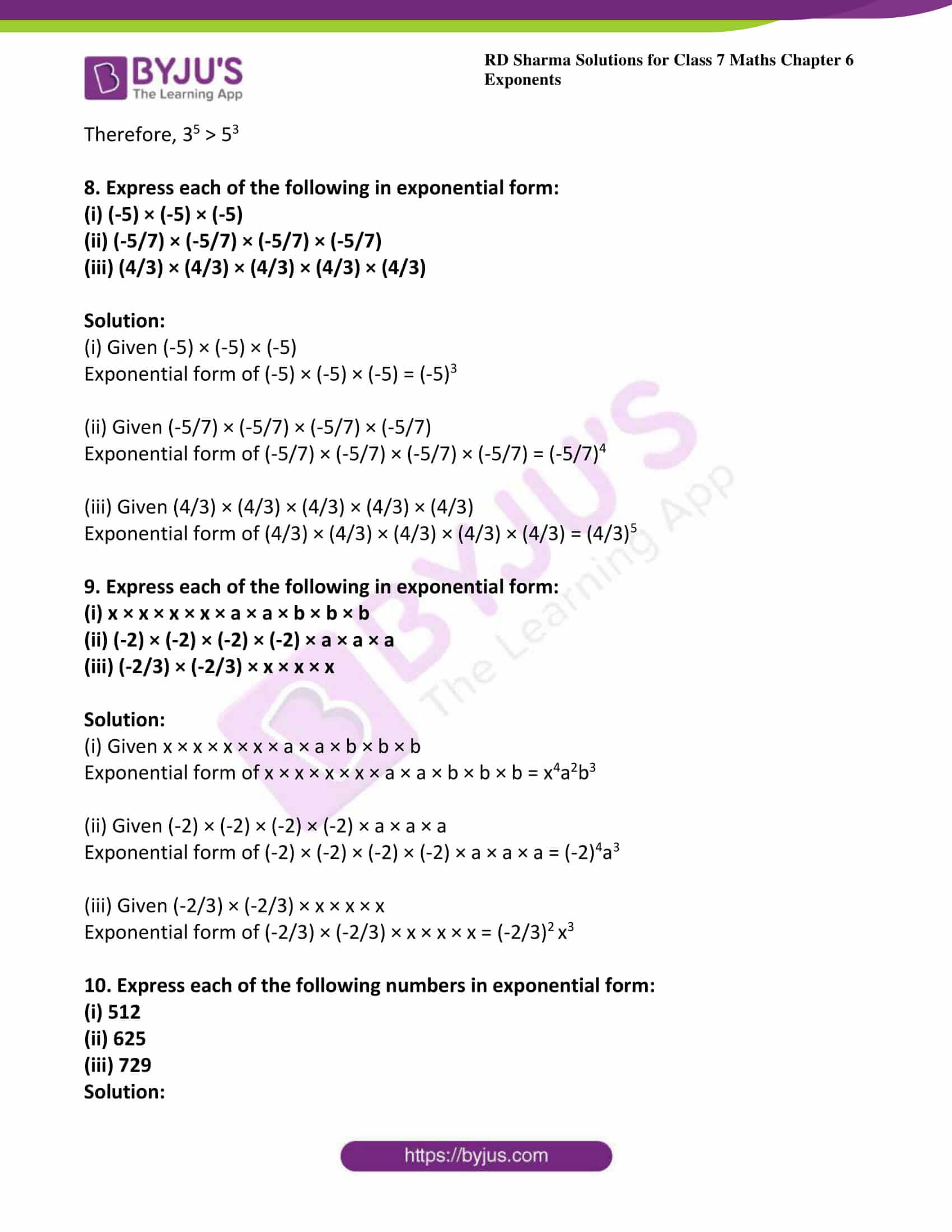 rd sharma class 7 maths solution chapter 6 ex 1