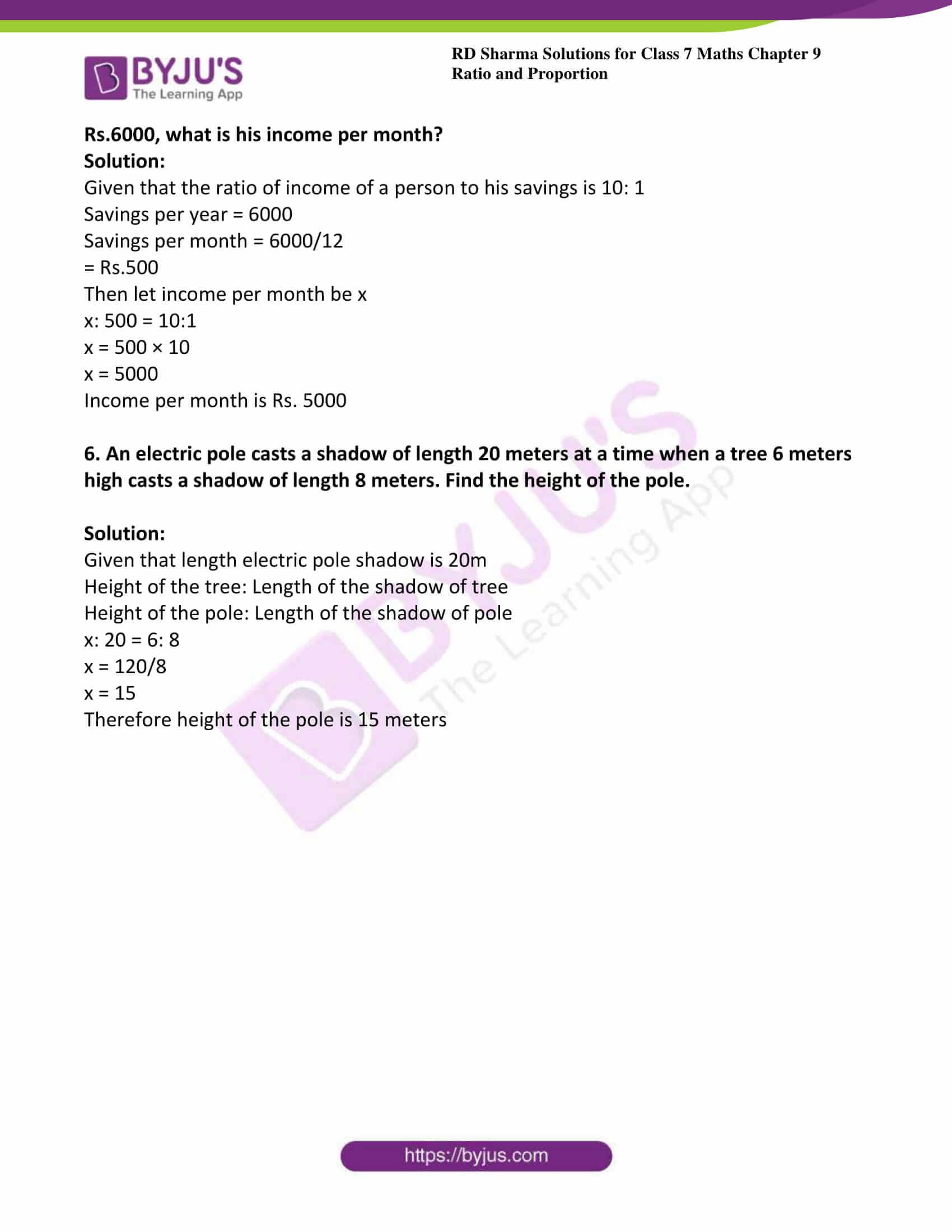 rd sharma class 7 maths solution chapter 9 ex 3