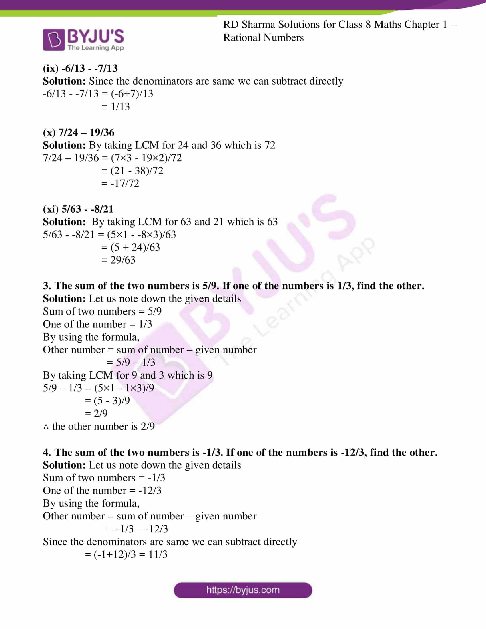rd sharma class 8 maths chapter 1
