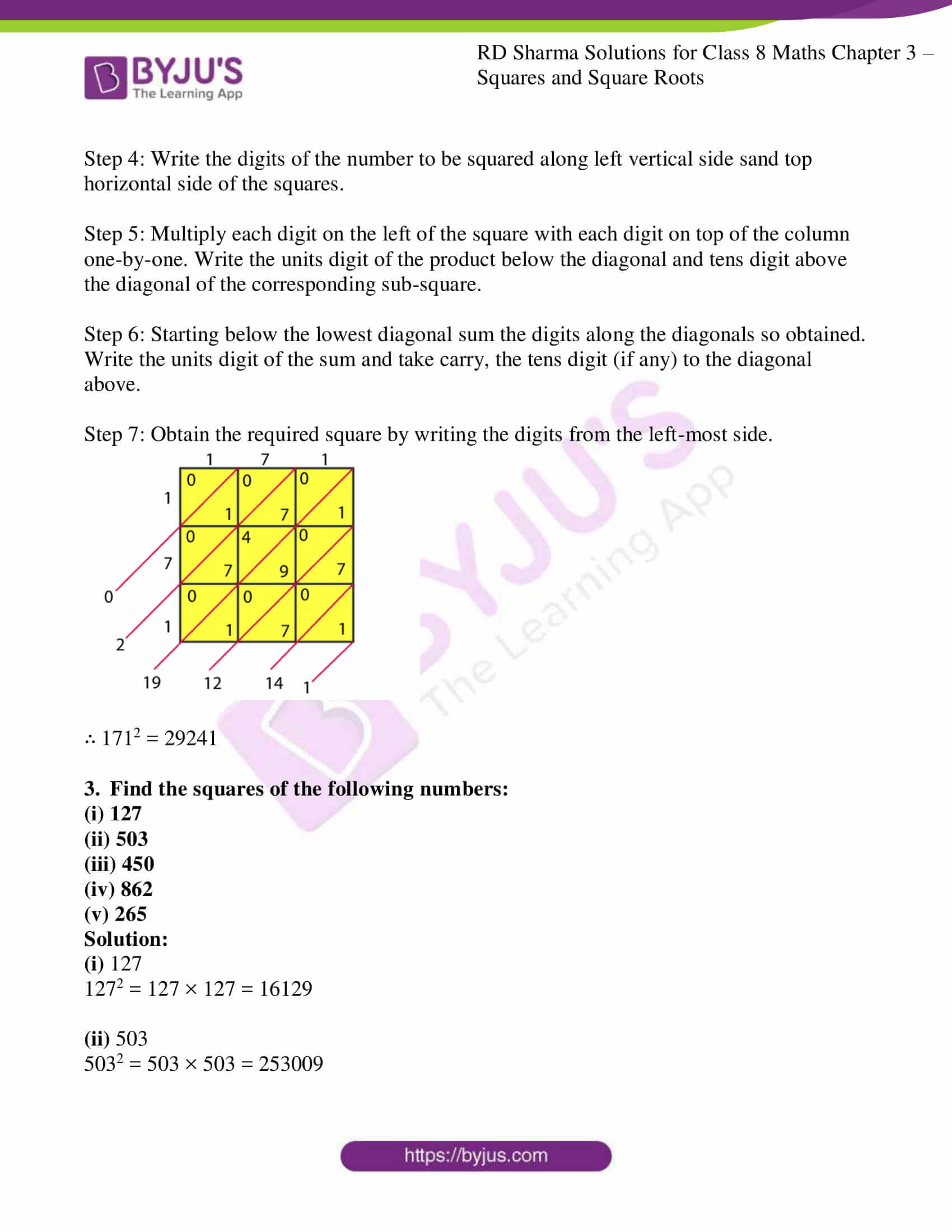 rd sharma class 8 maths chapter 3