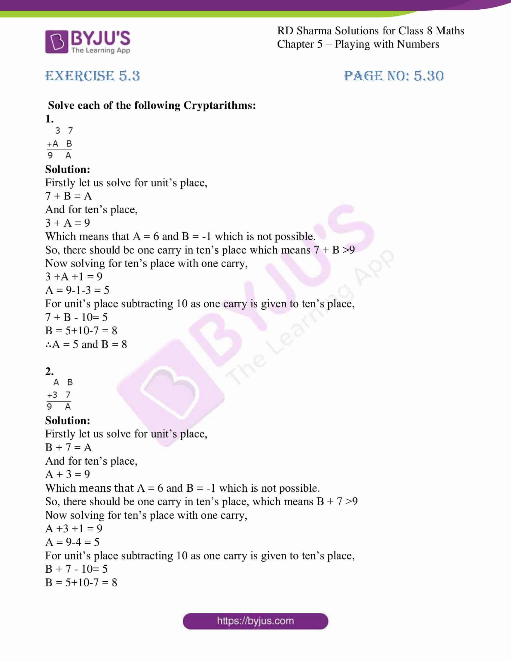 rd sharma class 8 maths chapter 5