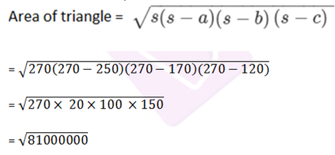 RD sharma class 9 maths chapter 12 ex 12.1 solution 5