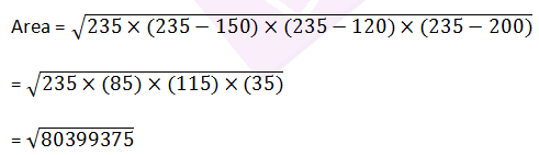 RD sharma class 9 maths chapter 12 ex 12.1 solution 1
