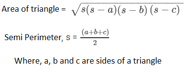 RD Sharma Class 9 Maths chapter 12 ex 12.2 question 1 Solution
