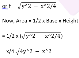 RD Sharma Class 9 Maths chapter 12 ex VSAQ question 3 solution