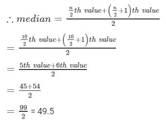 RD sharma class 9 maths chapter 24 ex 24.3 question 1