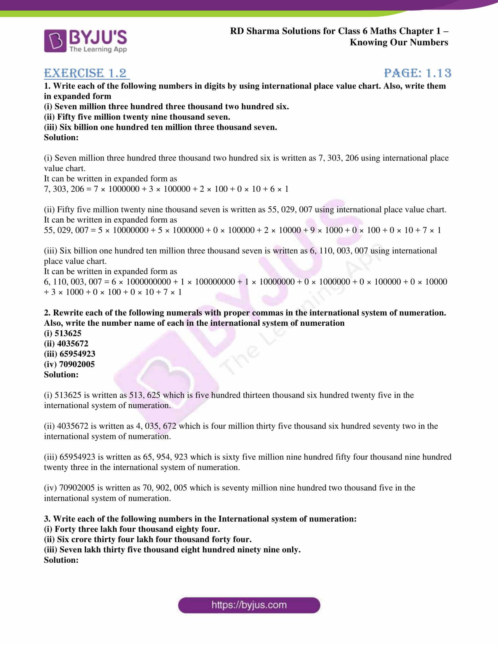 rd sharma solution class 6 maths chapter 1.2
