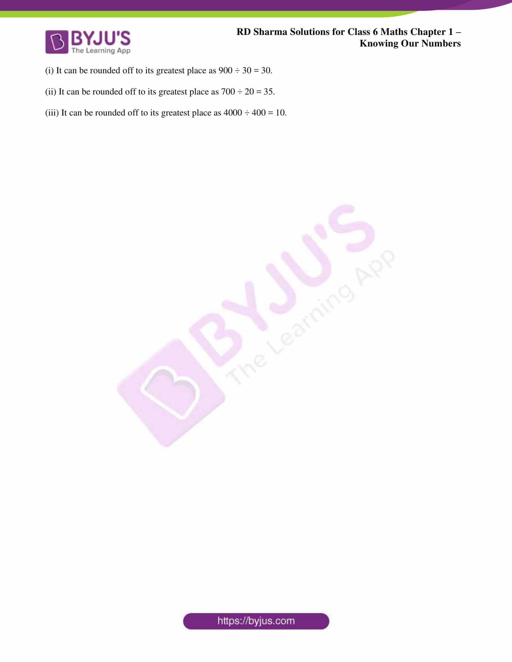 rd sharma solution class 6 maths chapter
