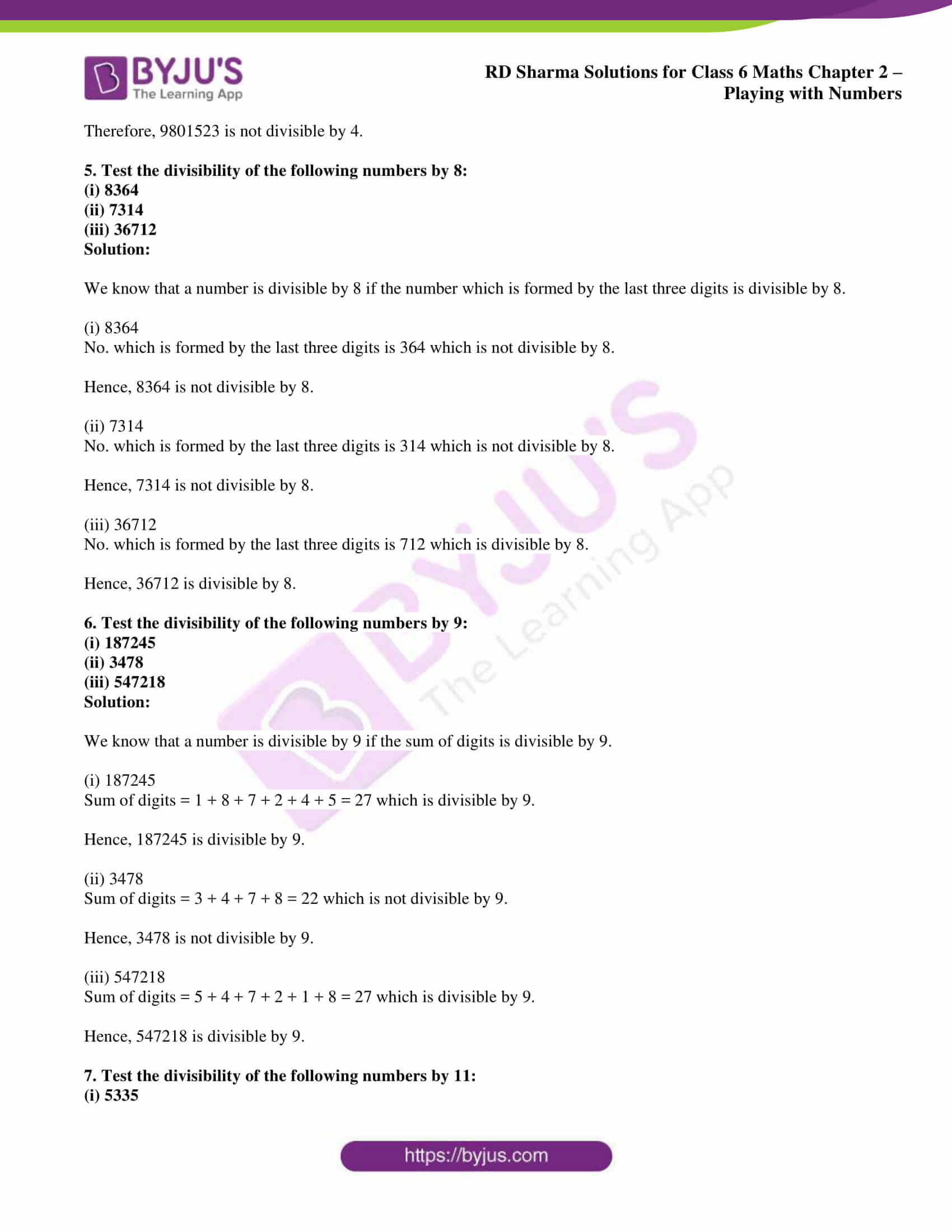 rd sharma solution class 6 maths chapter 2