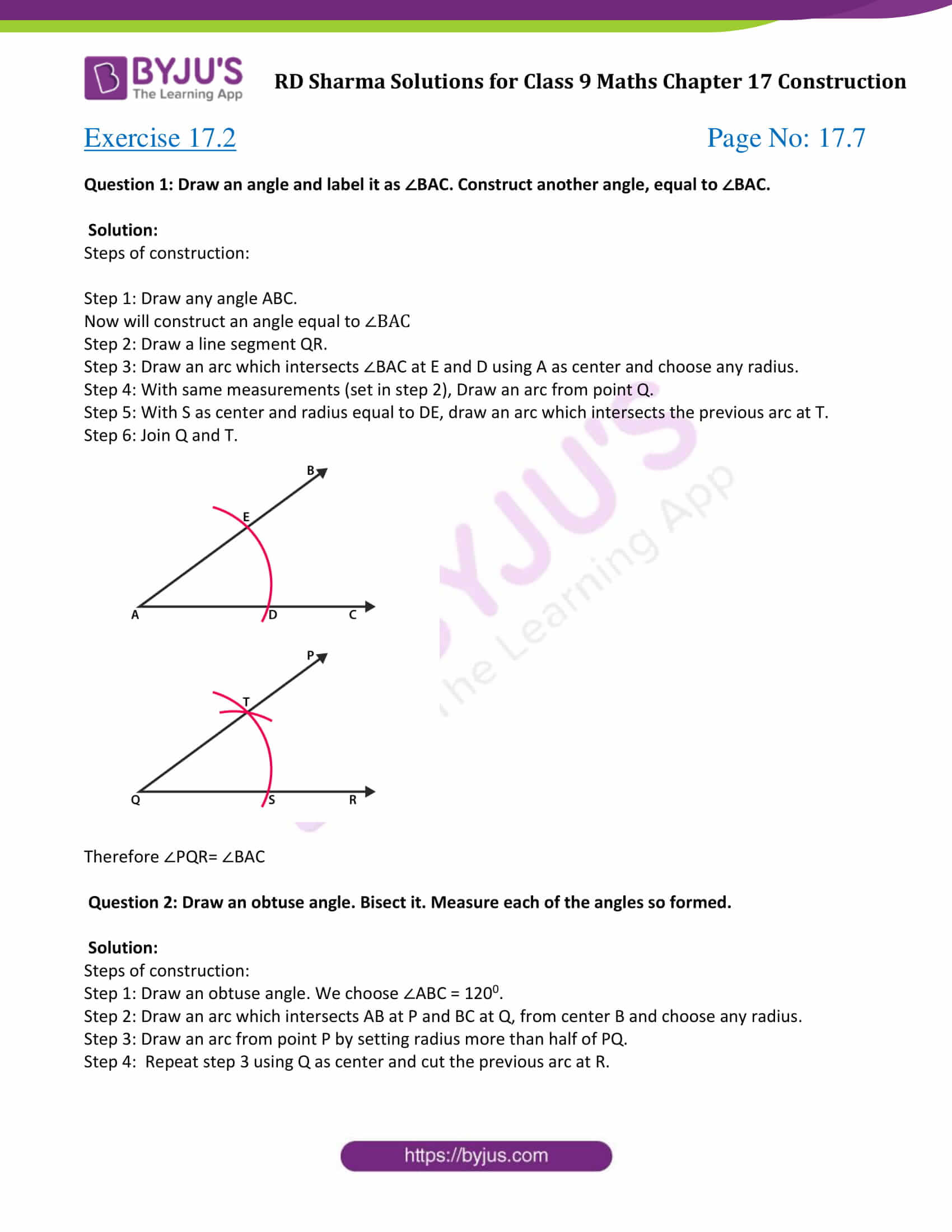 rd sharma class 9 maths chapter 17