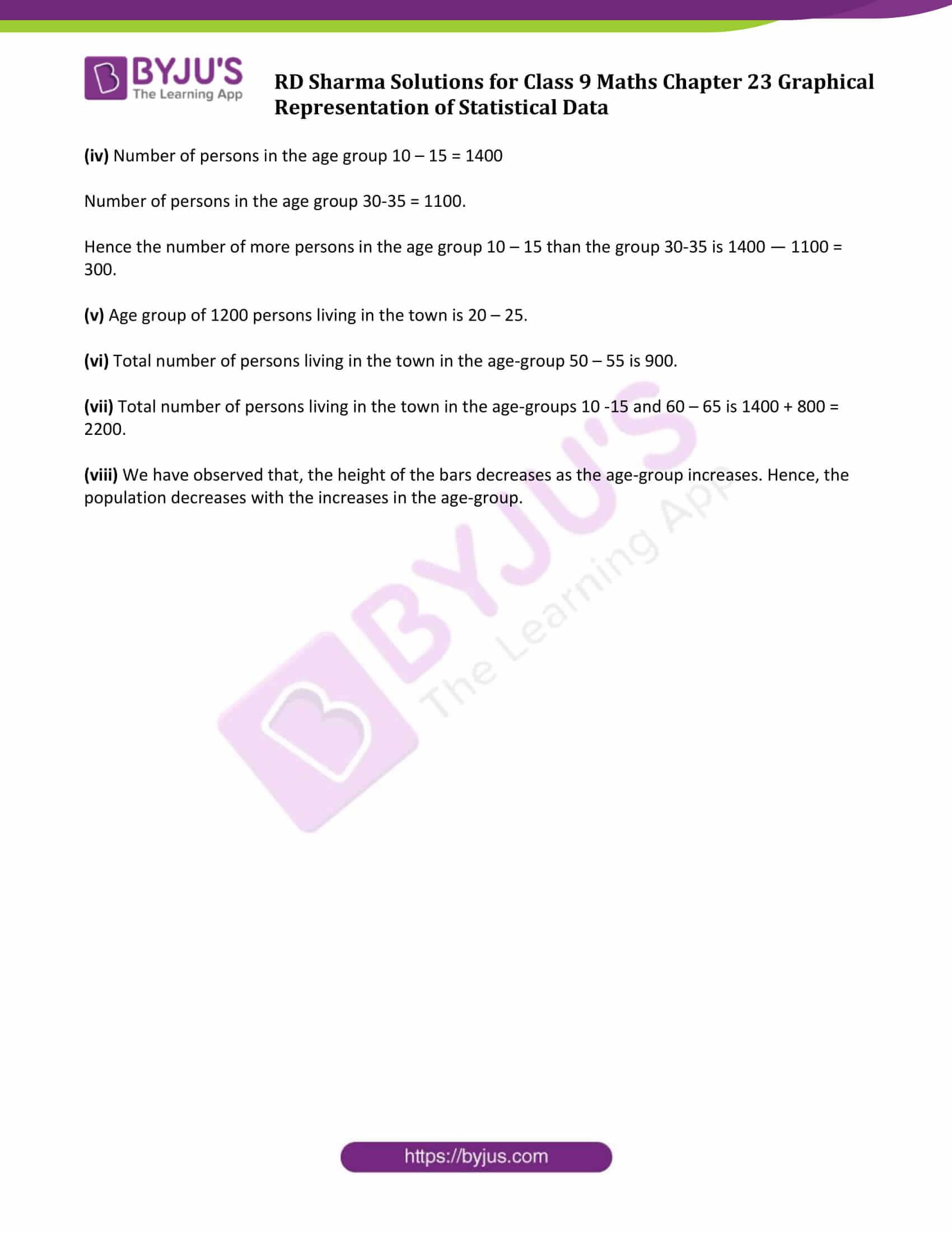 rd sharma solution class 9 maths chapter 23