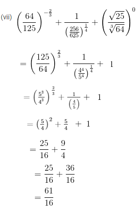 RD Sharma Solutions Chapter 2 Exercise 2.2 Exponents of Real Numbers