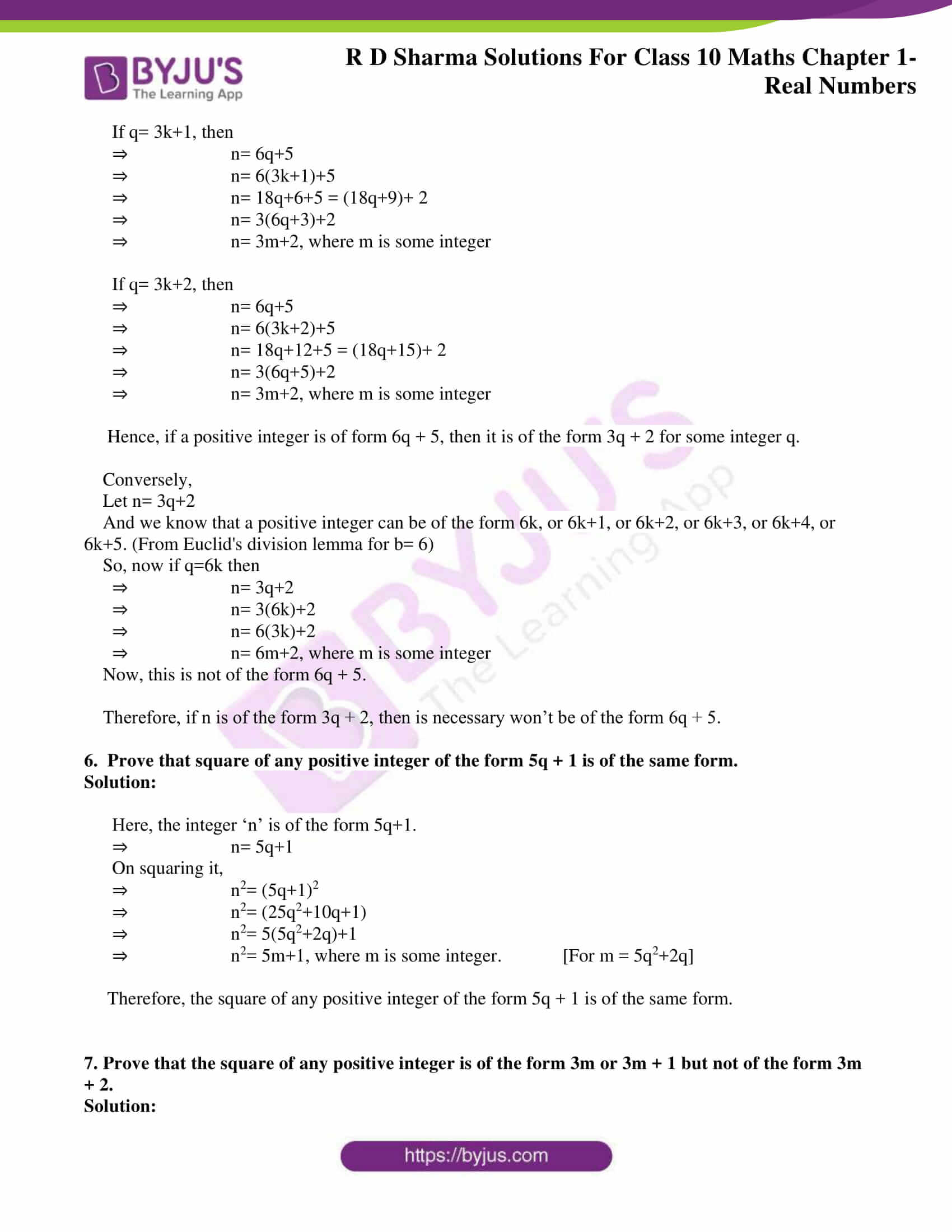 rd sharma solutions for class 10 chapter 1 ex 1.1