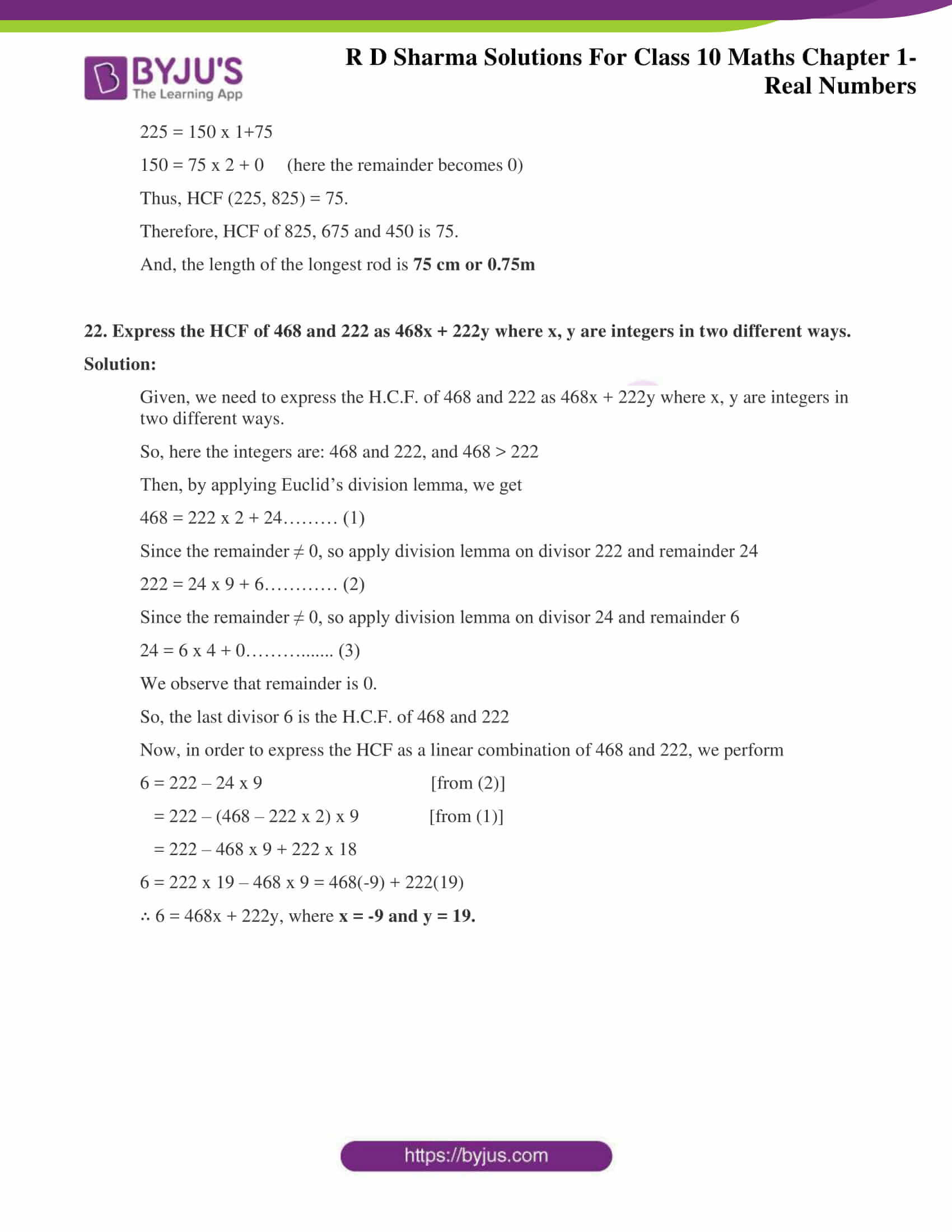 rd sharma solutions for class 10 chapter 1 ex 1.2