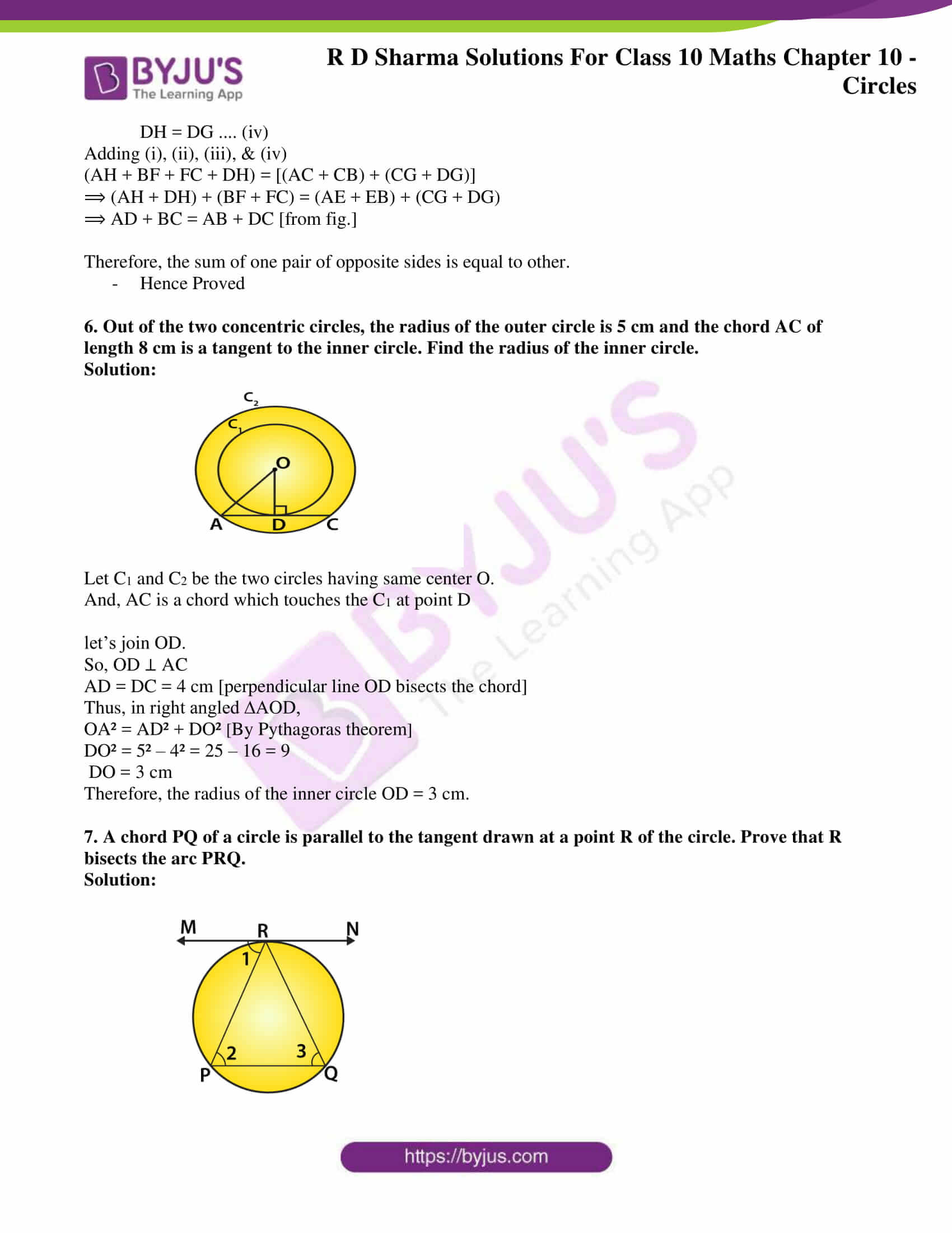 rd sharma solutions for class 10 chapter 10