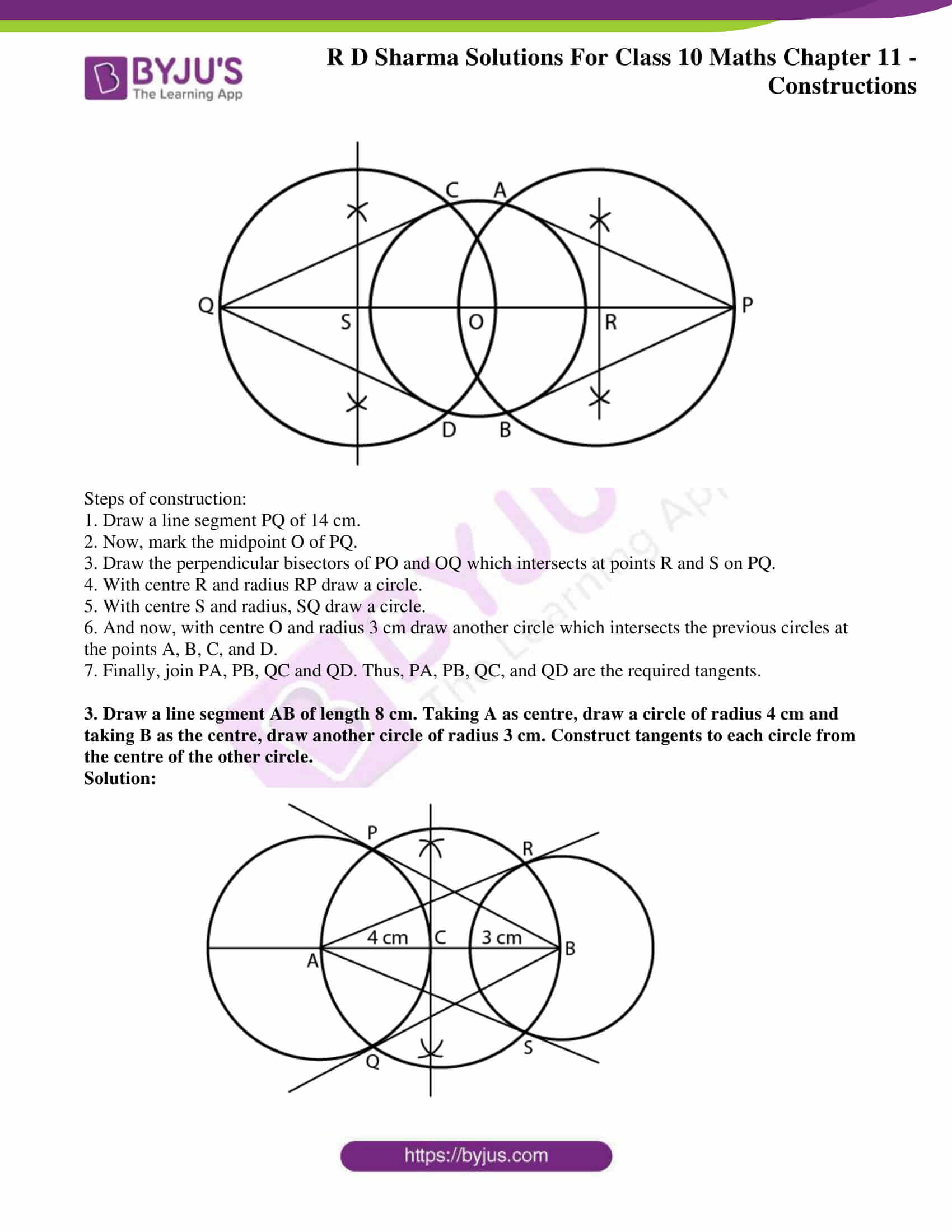 rd sharma solutions for class 10 chapter 11 ex 3