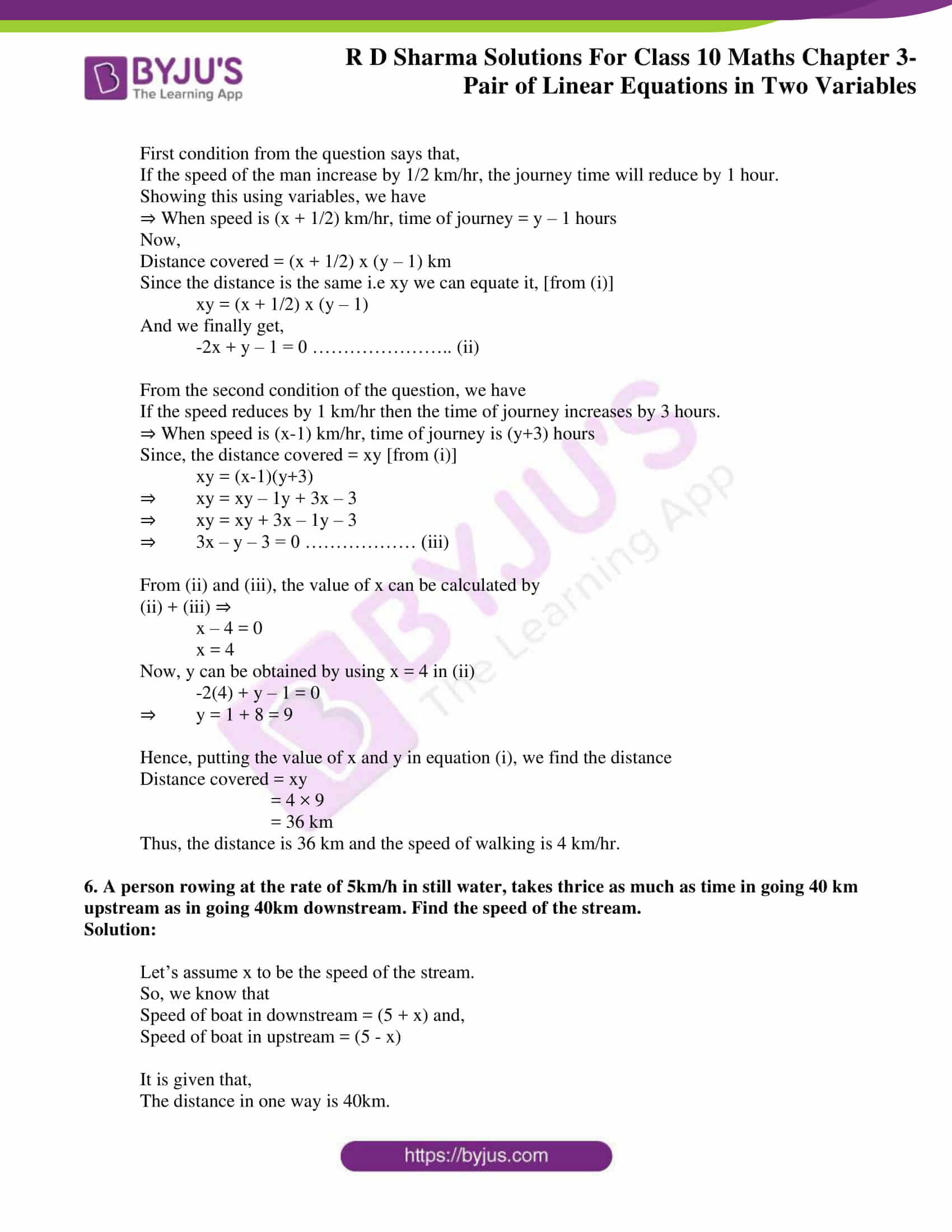 rd sharma solutions for class 10 chapter 3