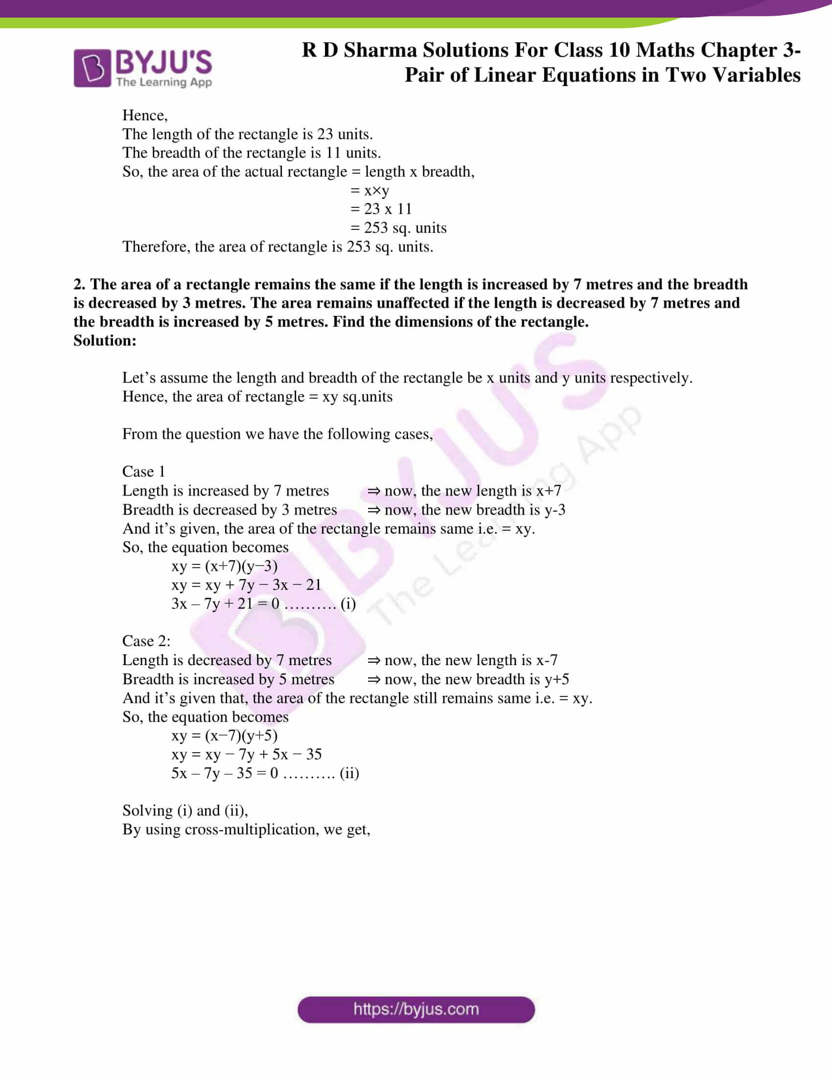 rd sharma solutions for class 10 chapter 3 ex 3.11