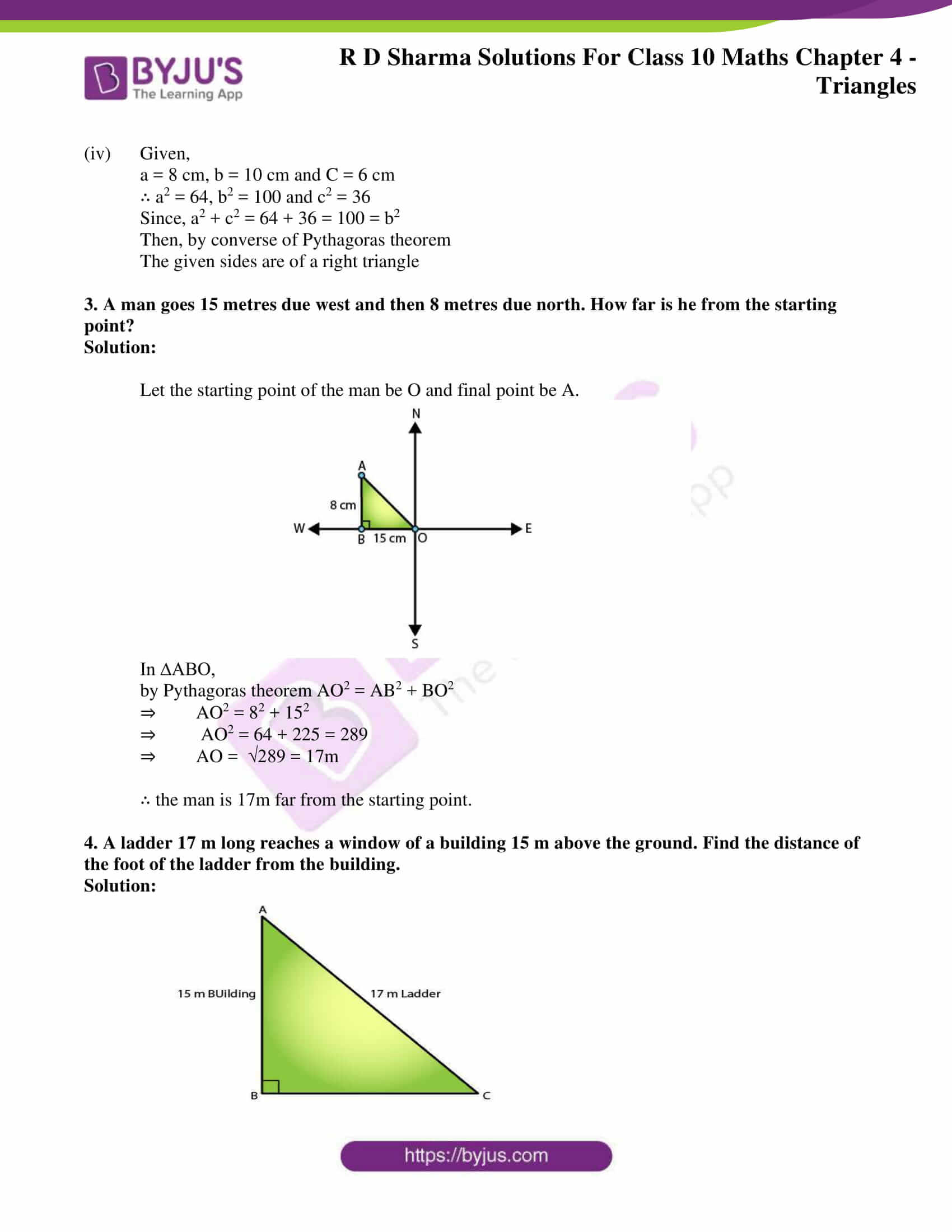 rd sharma solutions for class 10 chapter 4