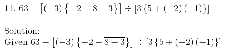 RD Sharma Solutions for class 7 Chapter 1 Integers Exercise 1.4 image 15