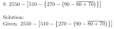 RD Sharma Solutions for class 7 Chapter 1 Integers Exercise 1.4 image 9