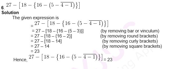 RS Aggaarwal Solutions For Class 6 Maths Chapter 6 Exercise 6A - 1
