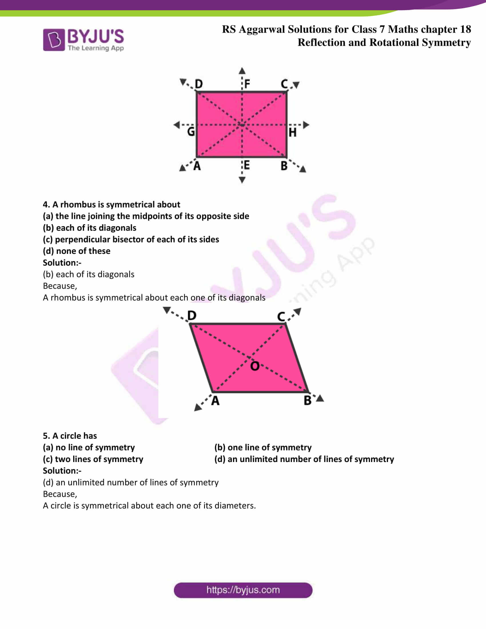 rs aggarwal solution class 7 maths chapter 18 Exercise 18A