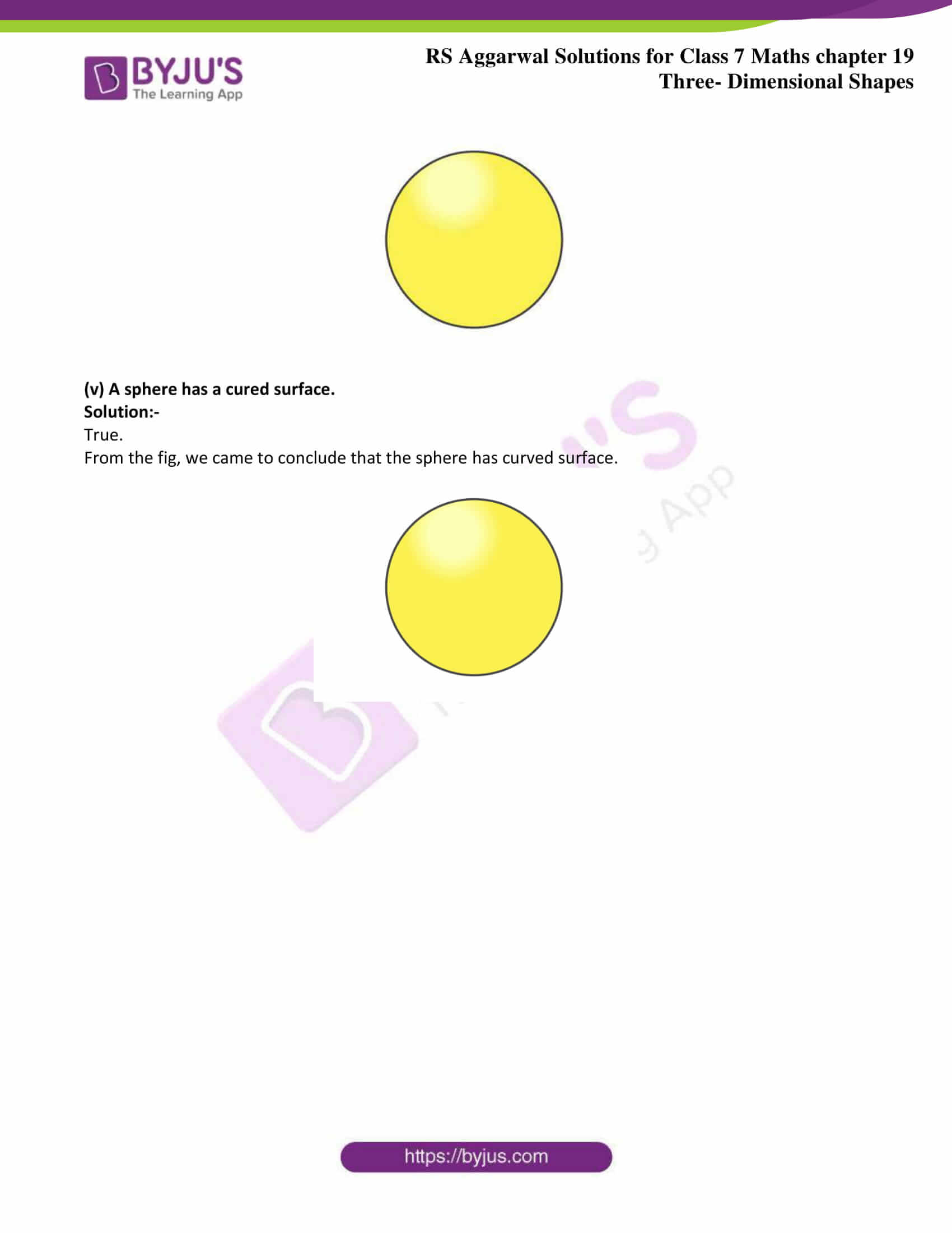 rs aggarwal solution class 7 maths chapter 19