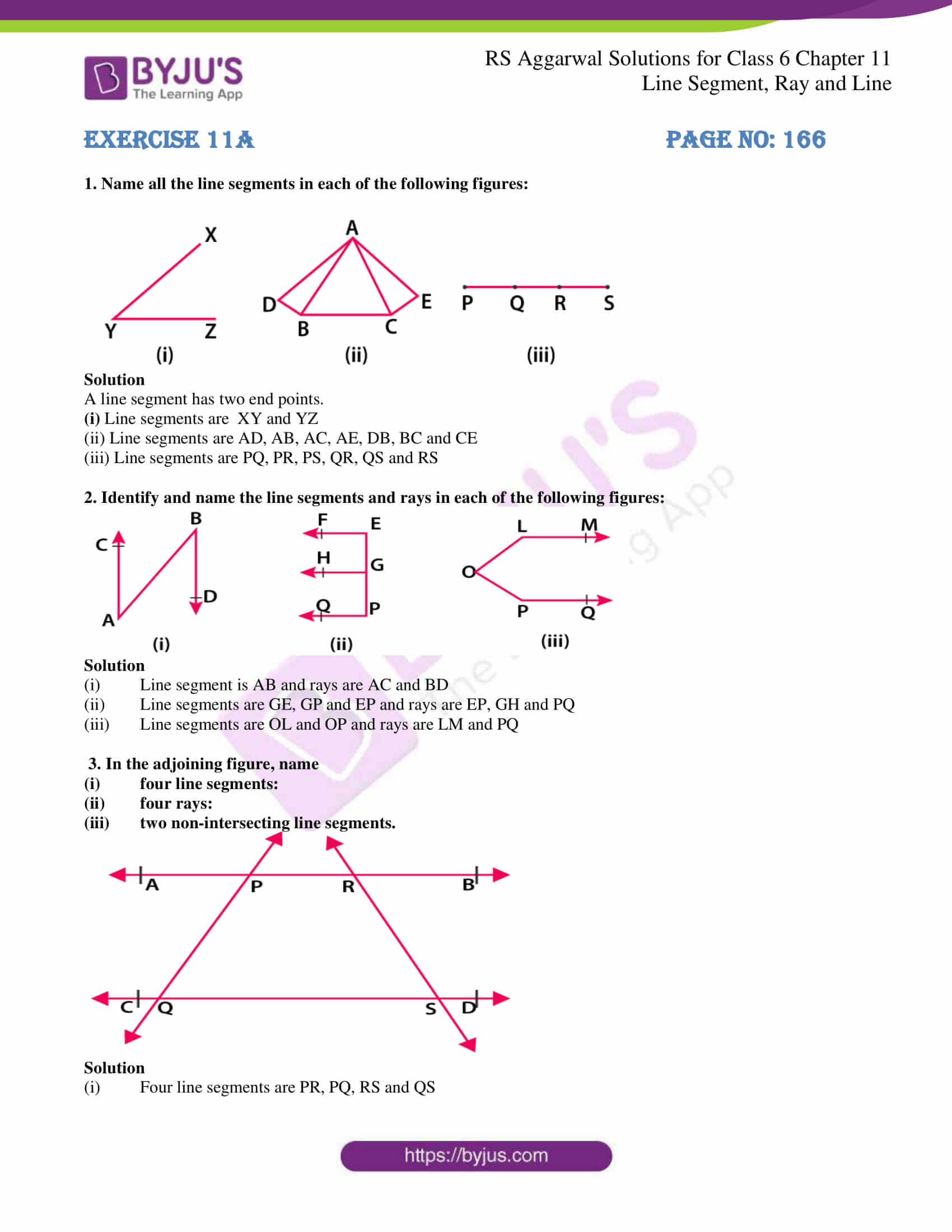 rs aggarwal solution class 6 maths chapter 11 ex 11a