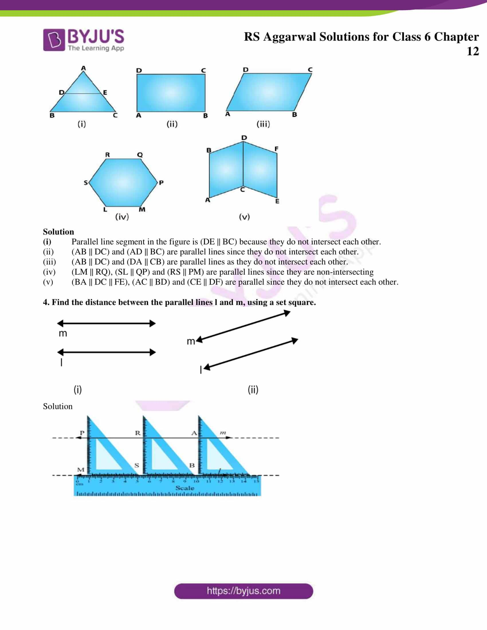 rs aggarwal solution class 6 maths chapter 12