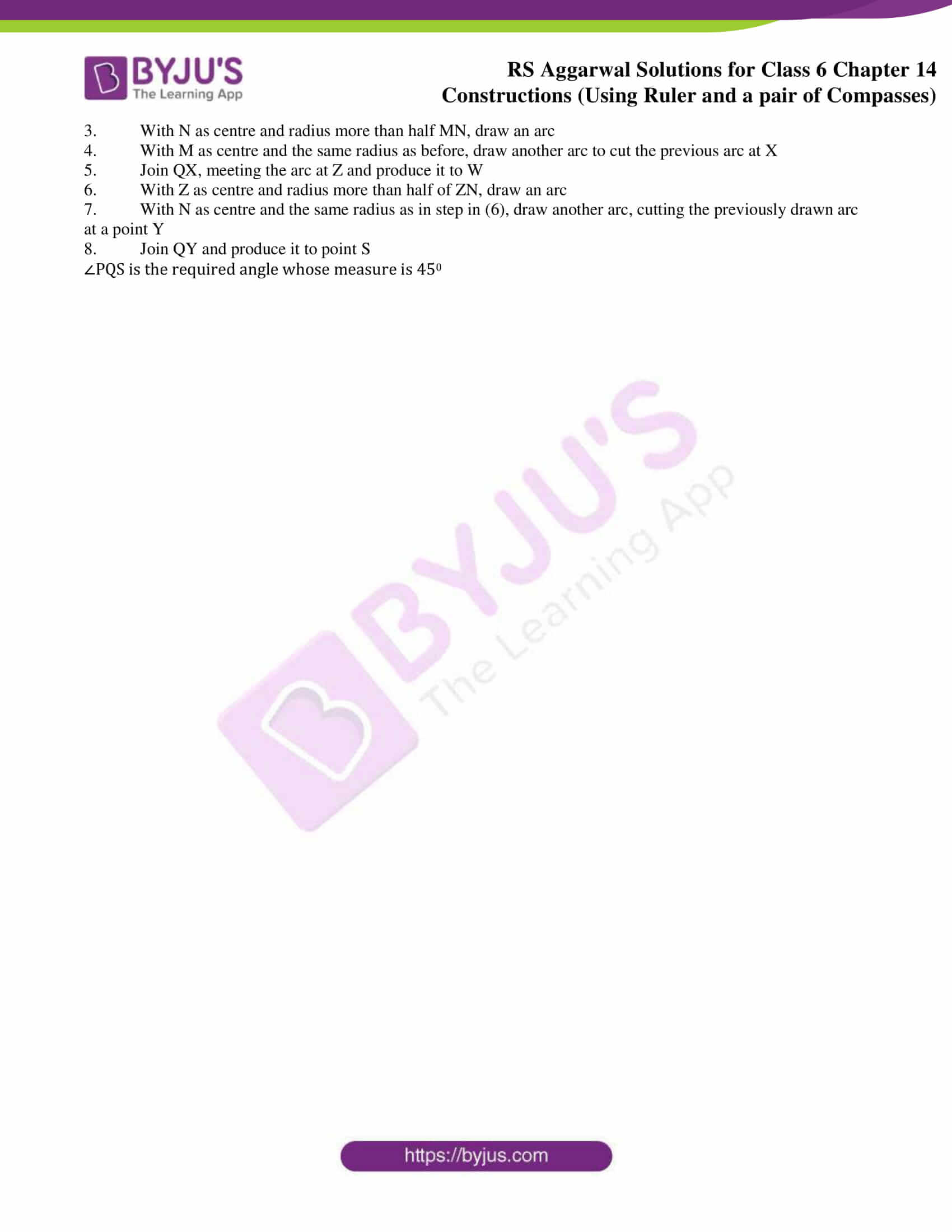 rs aggarwal solution class 6 maths chapter 14b