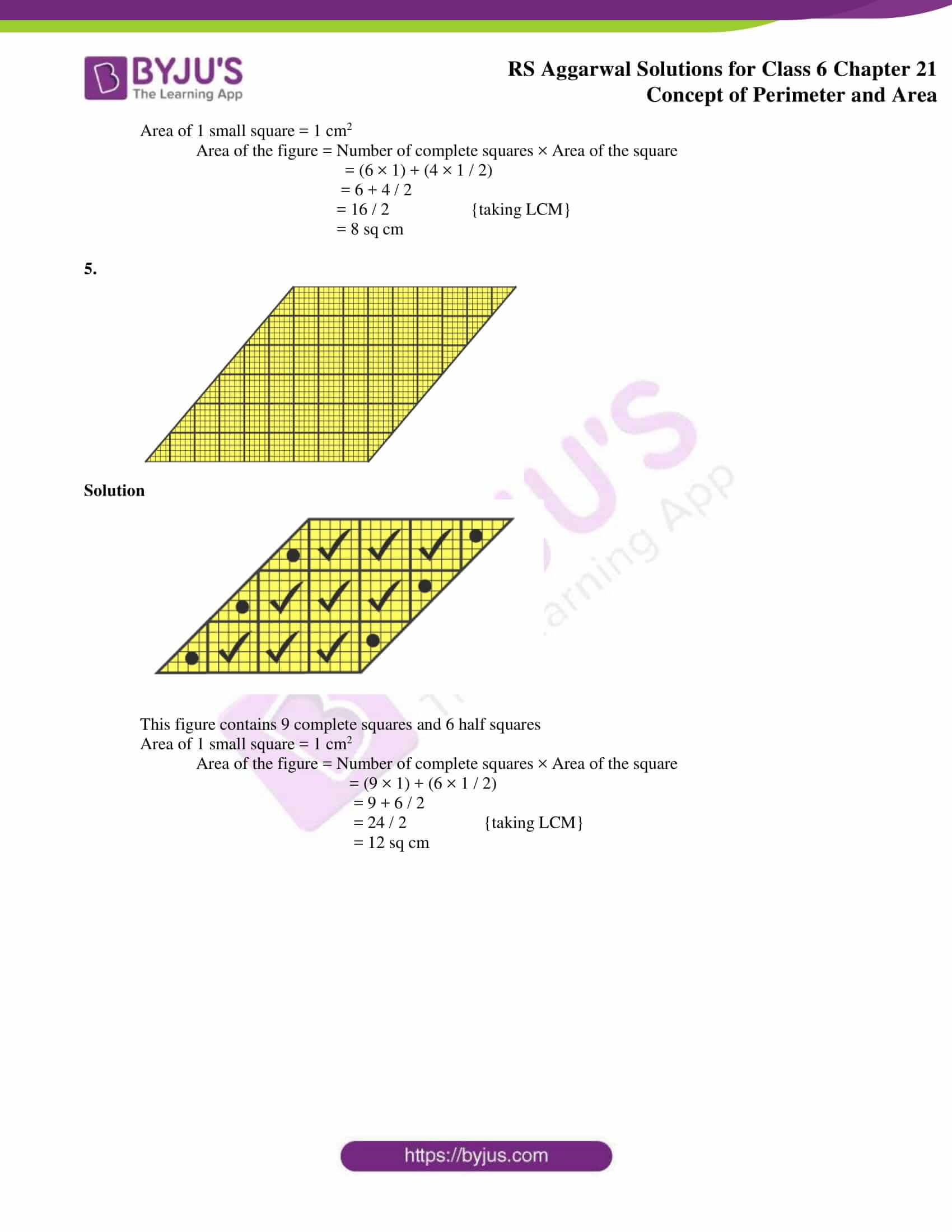 rs aggarwal solution class 6 maths chapter 21c
