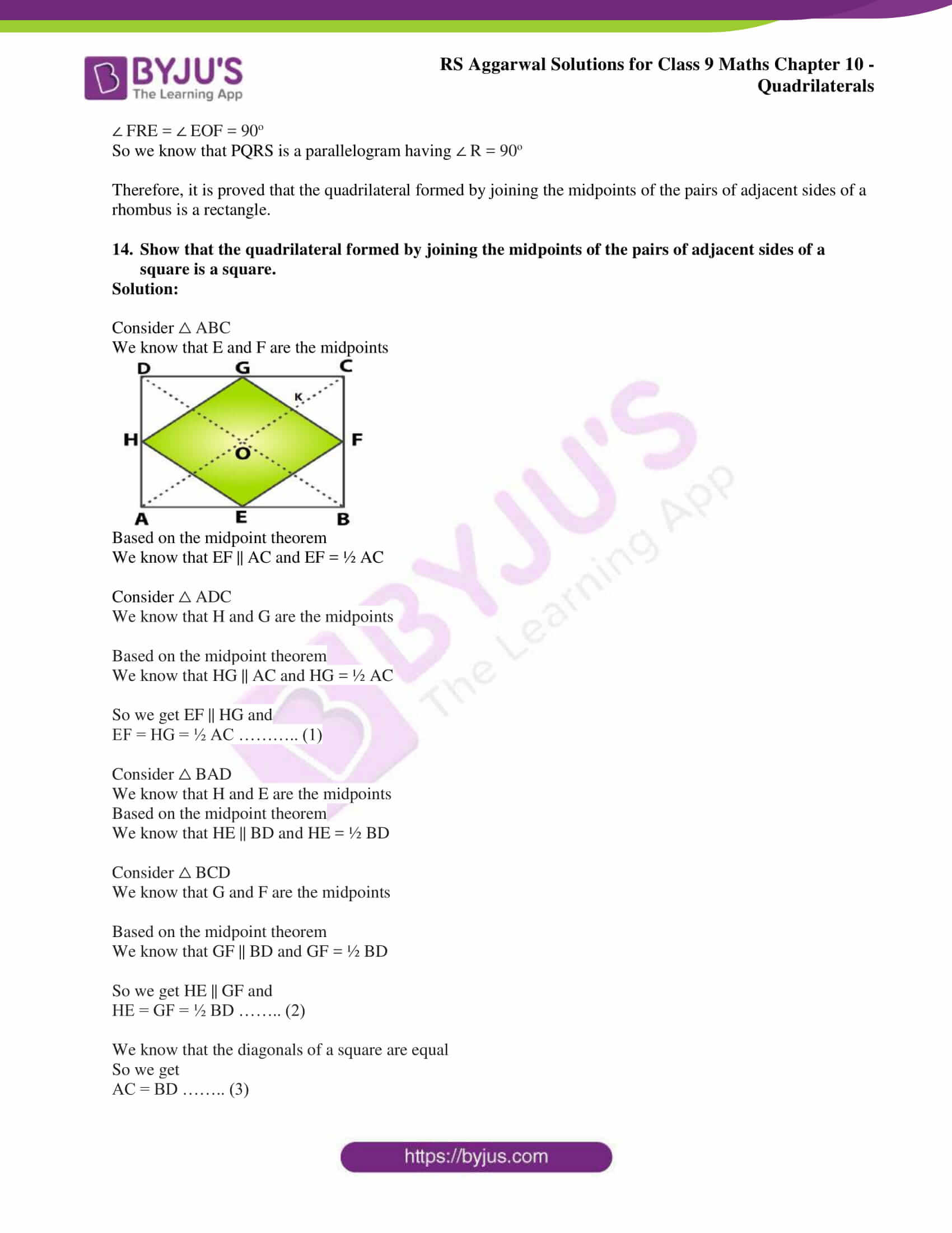 rs aggarwal solution class 9 maths chapter 10C