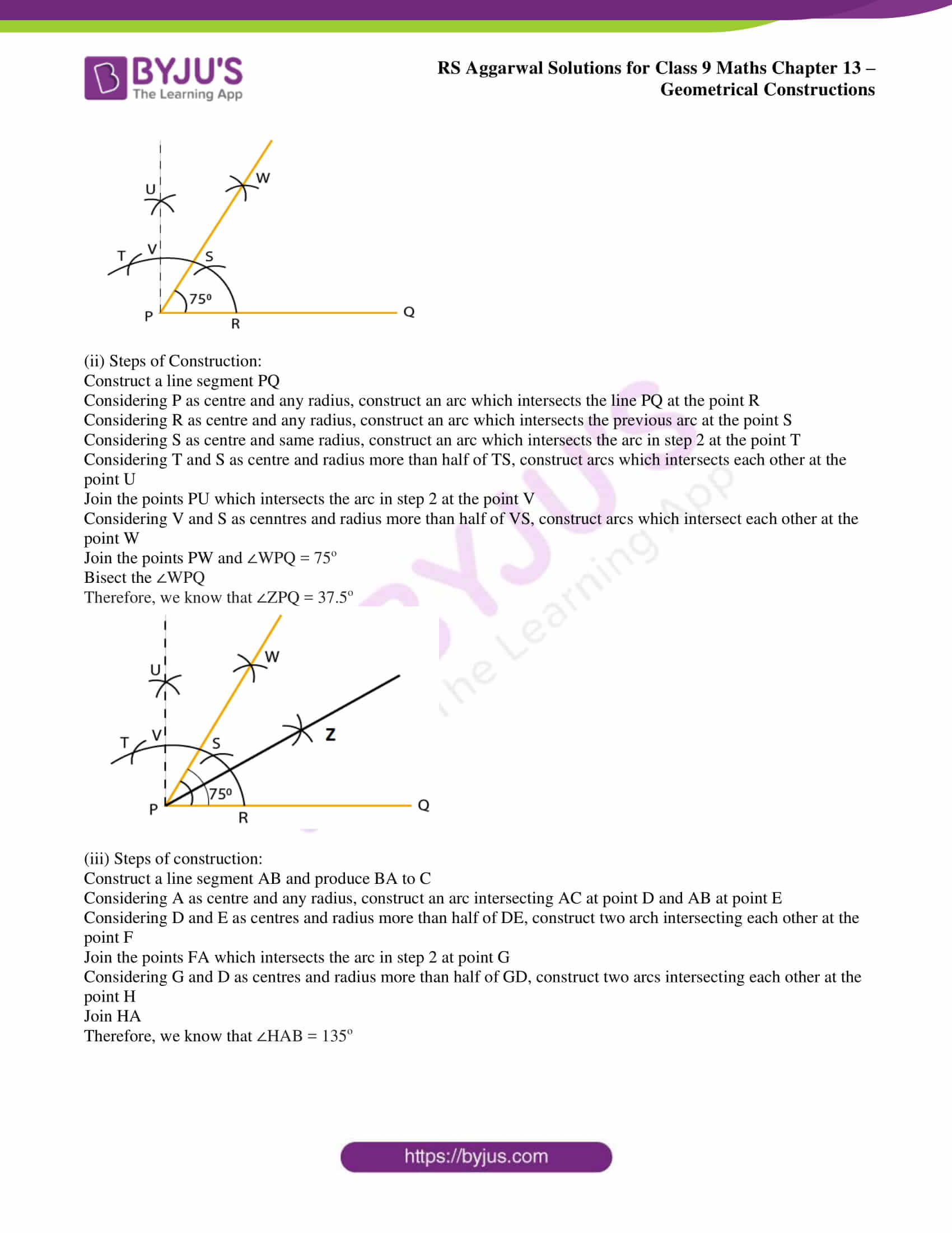 rs aggarwal solution class 9 maths chapter 13