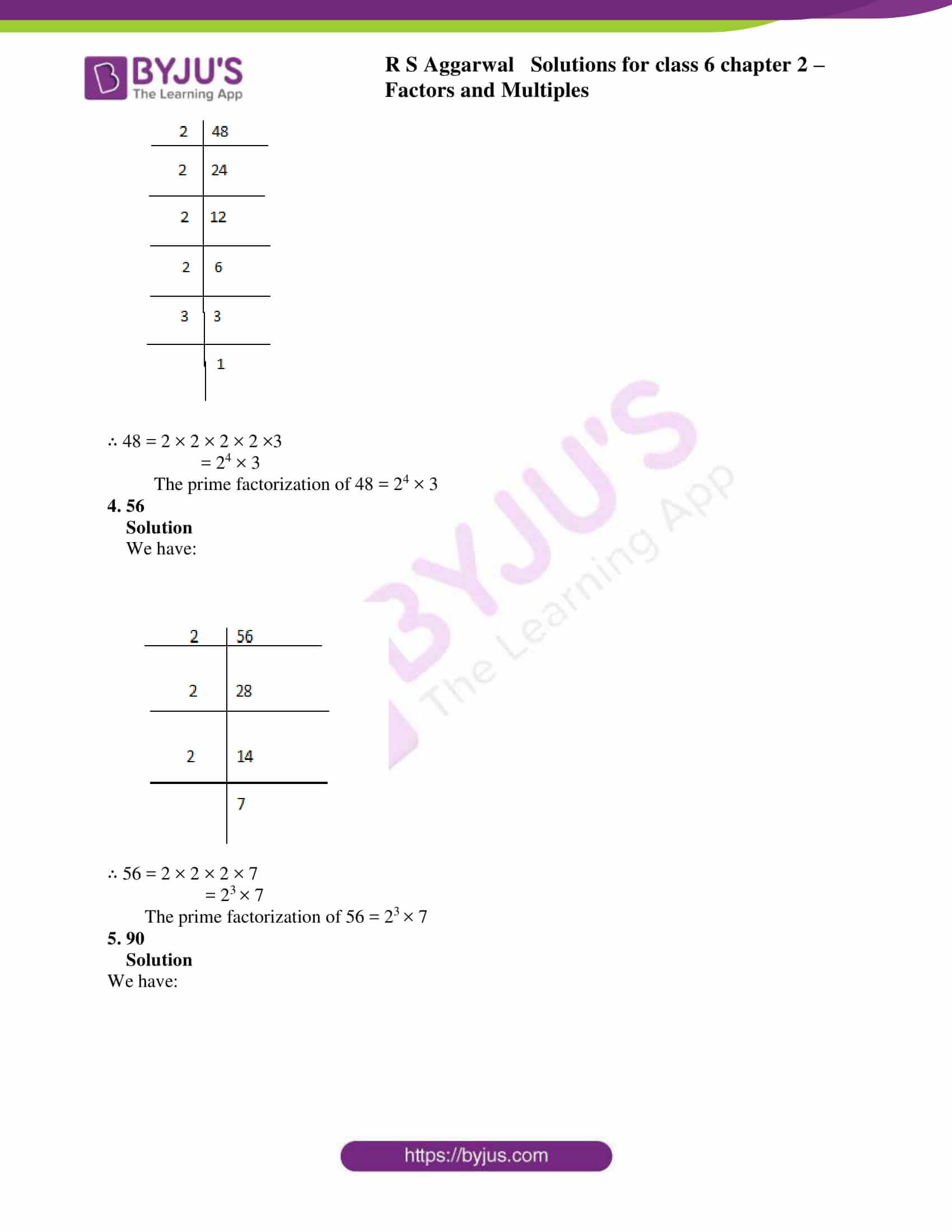 rs aggarwal solution class 6 maths chapter 2 ex 2c