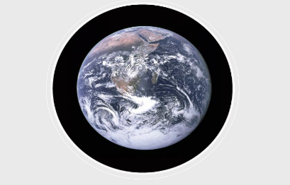 The planet is also known as the blue planet