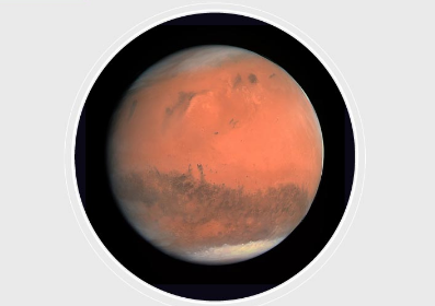 The planet is also known as the red planet