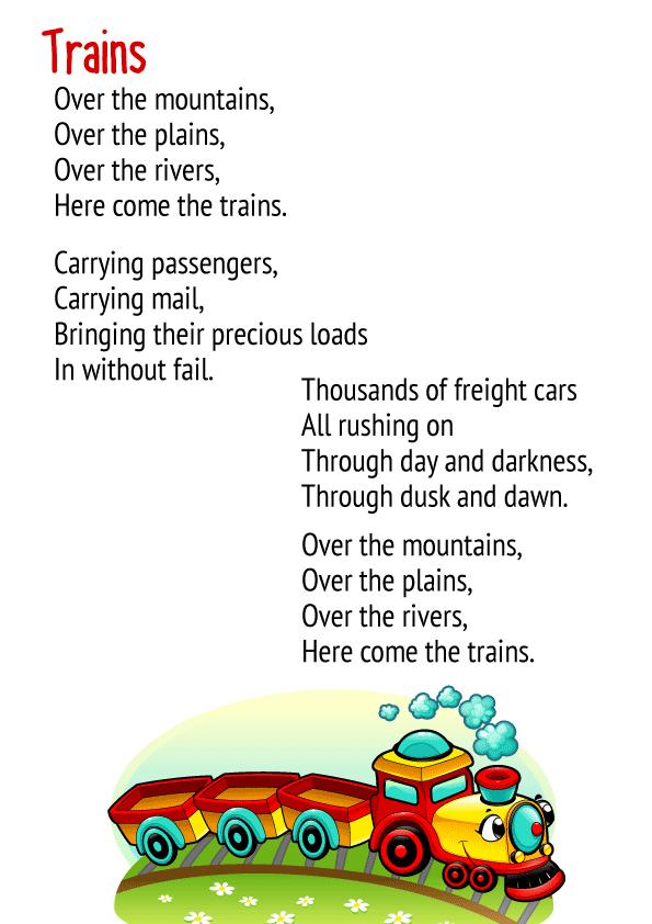 Trains Poem