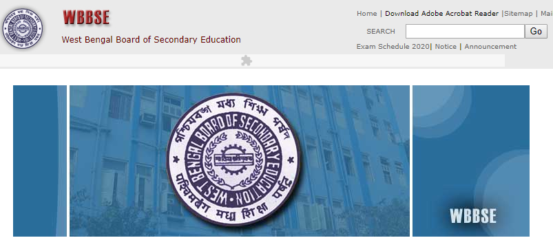 WBBSE Home Page