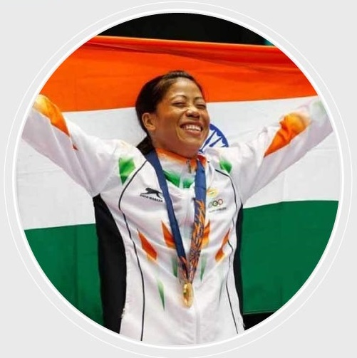 Mary Kom - woman boxer