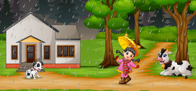 10 Lines On Rainy Day For Class 1